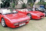 Fine Italian cars at Taj Samudra