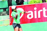 Young stars light up tennis court