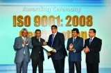 SLT awarded world renowned ISO 9001:2008 certification