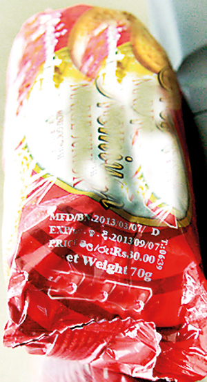 Canned Food Past Expiry Date