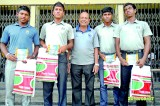 Schoolboy cricketers felicitated