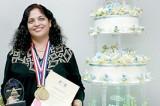 Rashika wins gold medal for her cakes