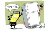 The lost mobile phone