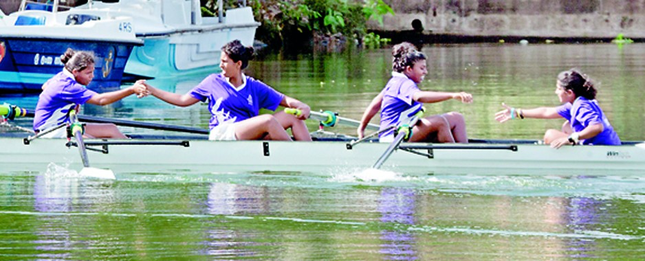 Ananda edge S. Thomas' to claim Under 20 Coxed Fours