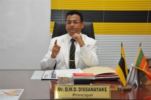 Mr. D. M. D. Dissanayake, DS College Principal.