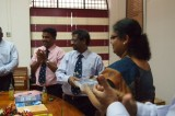 IESL New South Wales (Australia) Chapter donates books to Jaffna University E' Faculty