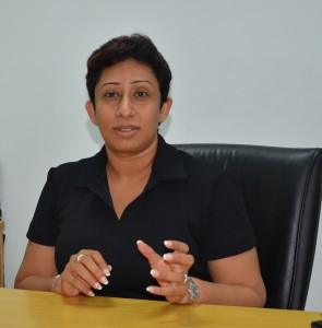 Ms. Kumudu Abeywardene, programme director of NEXT CAMPUS
