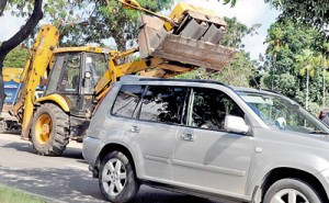 Massive vehicles carelessly parked on busy streets can be seen at every nook and corner.