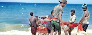 After the polls: It was back to their normal day-to-day hard life for these fishermen in the north