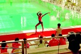 Aneka clinches the silver medal in  synchronized swimming