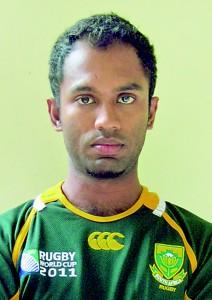 Darshana Dandeniya, the coach cum skipper of GRFC