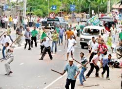 Infighting turns into street battles