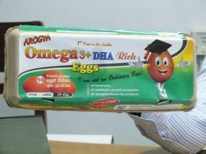 Arogya Omega 3+ DHA Eggs pack