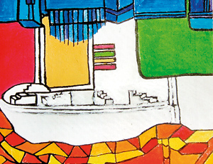 Every child has a story to tell: Student artwork on display