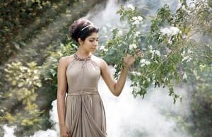 Model - Maneesha Perera; Photographs by Anushika Fernando; Hair and makeup - Dil Sapukotanage; Digital retouching - Dilsh Dil and location sponsor - Dr. Yasa Siriwardena