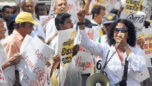 File photo shows GK depositors protesting