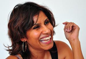 Layla: Bold expressions. Pix by Mangala Weerasekera