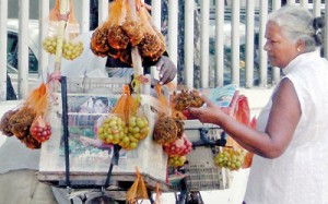 Local fruits: Not that easy to get