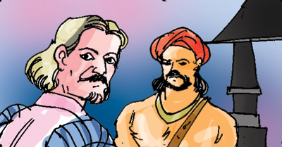 The general returned to Colombo. Once again, he marched to attack the Four-Korales. It is then that Mudliyar Samarakoon began to suspect the general. He also received information to the effect that the general was following a lukewarm policy. The general took Mudliyar Samarakoon as a prisoner.