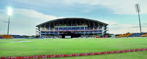The Sooriyawewa Stadium located in the Southern city of Hambantota, is one of the venues that has all facilities cricket needs. - File pic