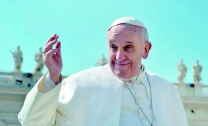 Reformist: Pope Francis has accused many of his predecessors of being 'narcissists' (AFP)
