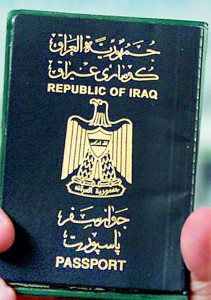 Not so good: Iraq is near the bottom of the table, with only 31 countries available for entry without a visa (AFP)