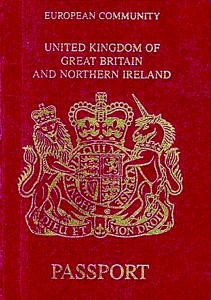 The UK's citizens are on a par with those from Finland for visa-free access, a study revealed (©CC BY-SA 3.0 'British passport' by Stratforder)