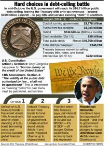 POLITICS: U.S. debt ceiling options