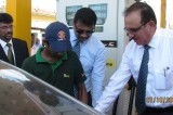 Laugfs Group's Southern  Petroleum partners LIOC in  new fuel station in Galle