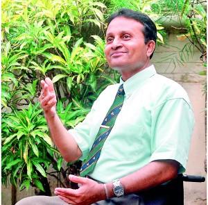 Crusader on wheels - Dr Ajith C. S. Perera