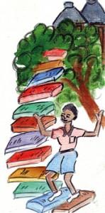 book-staircase