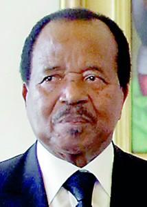 VATICAN-POPE-CAMEROON-BIYA
