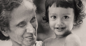 Miriam and granddaughter Tesalia