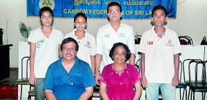 The Sri Lanka senior team