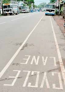 The signs are  plainly written for all to see… but these bus drivers do not care a hoot