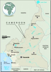 MAP: Cameroon