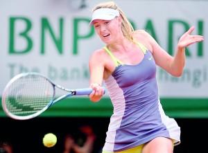 Maria  Sharapova; missing the final  curtain