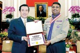 Taiwan President honours Janaprith