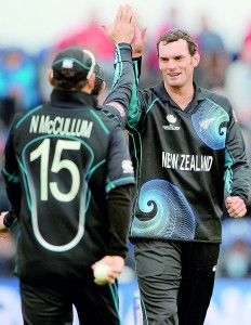 Fast bowler Kyle Mills will lead the Kiwis while regular sipper Brendon McCallum stays at home getting ready for the West Indies inbound series next month. - AFP