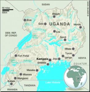MAP: Uganda