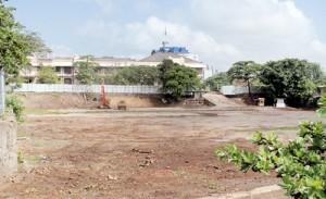 The site for Australian billionaire James Packer's multi-storey casino resort at D.R. Wijewardene Mawatha