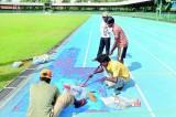 Ruined track at Sugathadasa Stadium: Who is the culprit?