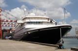 Norwegian luxury yacht docks into Colombo