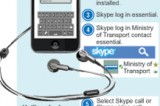 Skype complaints: Minister on overdrive, passengers apply brakes