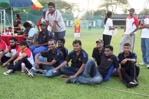 CA Sri Lanka Students' Society team