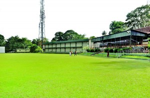 The legendary NCC ground and its club house. - Pix by Indika Handuwala