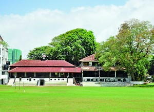 Majestic look of CCC club house - Pix by Mangala Weerasekara