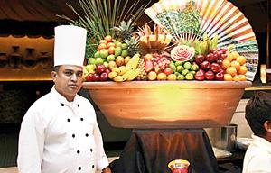 Galadari's chef Nihal