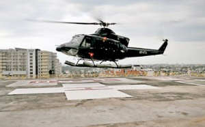 Colombo medically prepared: New helipad  on rooftop of the National Hospital  for air ambulances.