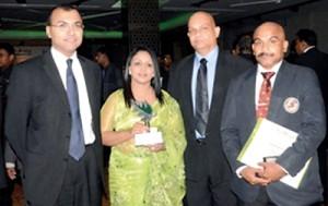 DGM Rawatah with his Award